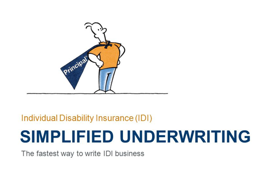 Simplified Disability Insurance – Underwriting now offered through Principal Insurance